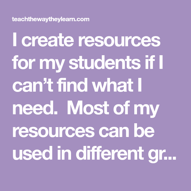 6 Resources I Need To Teach | school library | Teacher