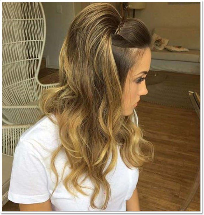 135 Whimsical Half Up Half Down Hairstyles You Can Wear for All Occasions | Half updo, Medium ...