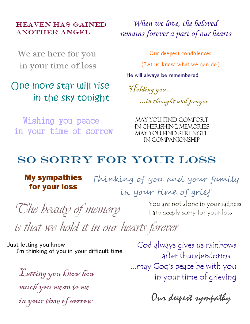 Sympathy cards verses for sympathy cards that express your deepest sympathy cards verses for sympathy cards that express your deepest condolences izmirmasajfo