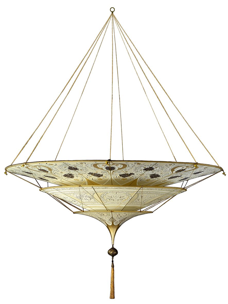 Mariano fortuny hanging lamp material stuff doesn 39 t for Studium innendesign
