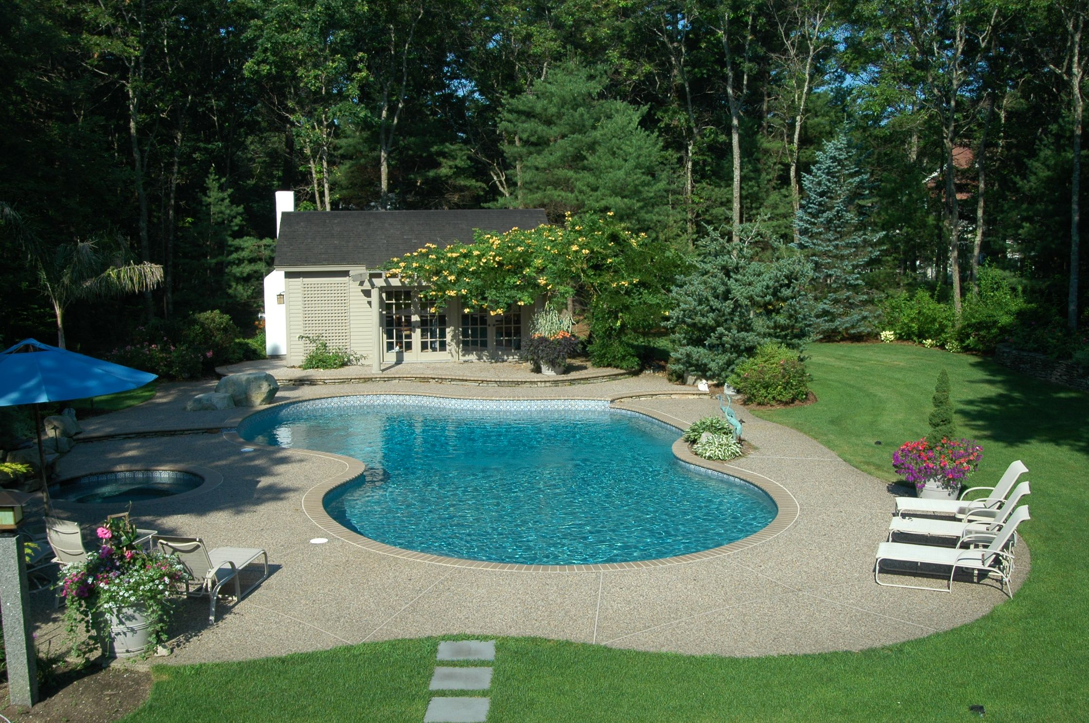 What A Lovely Pool My Wife And I Have A