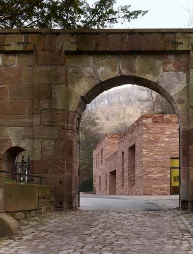 Heidelberg, Germany  Heidelberg Castle Visitor Centre  Besucherzentrum Schloss Heidelberg  Max Dudler Architekt