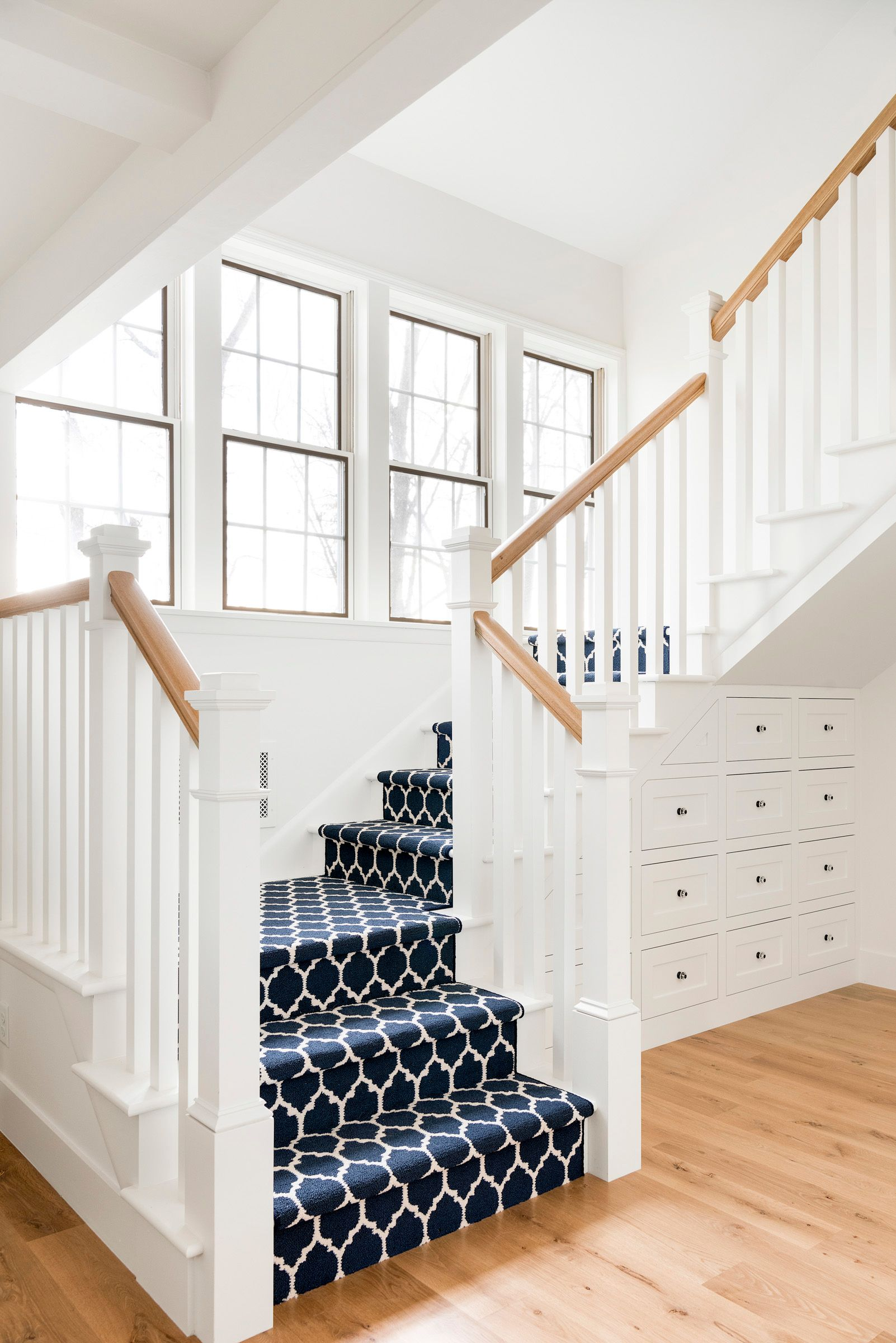 Country Home Renovation Stair Renovation Staircase Design