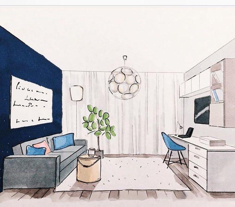 apprendre a dessiner l interieur d une maison sketches Pinterest - apprendre a dessiner une maison
