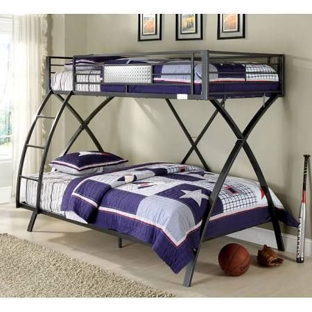 steel twin over full bunk bed - Google Search | Camas | Pinterest ...