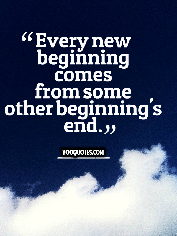 Every Ending Is A New Beginning Trustworthy Quotes Quotes By Famous People Amazing Quotes