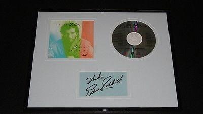 Eddie Rabbitt Signed Framed 11x14 Greatest Hits CD & Photo Display