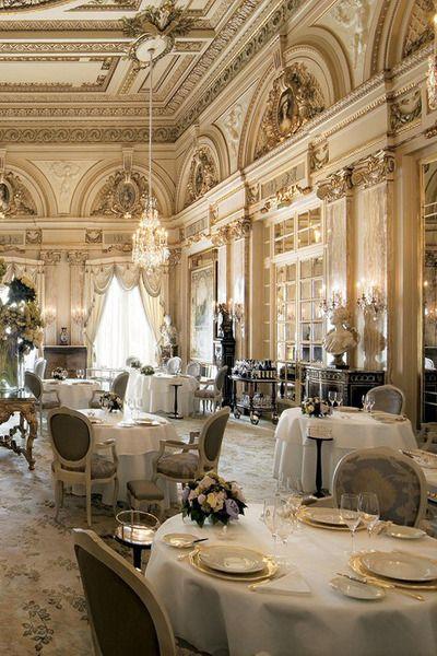 Restaurant louis xv alain ducasse hotel de paris monte