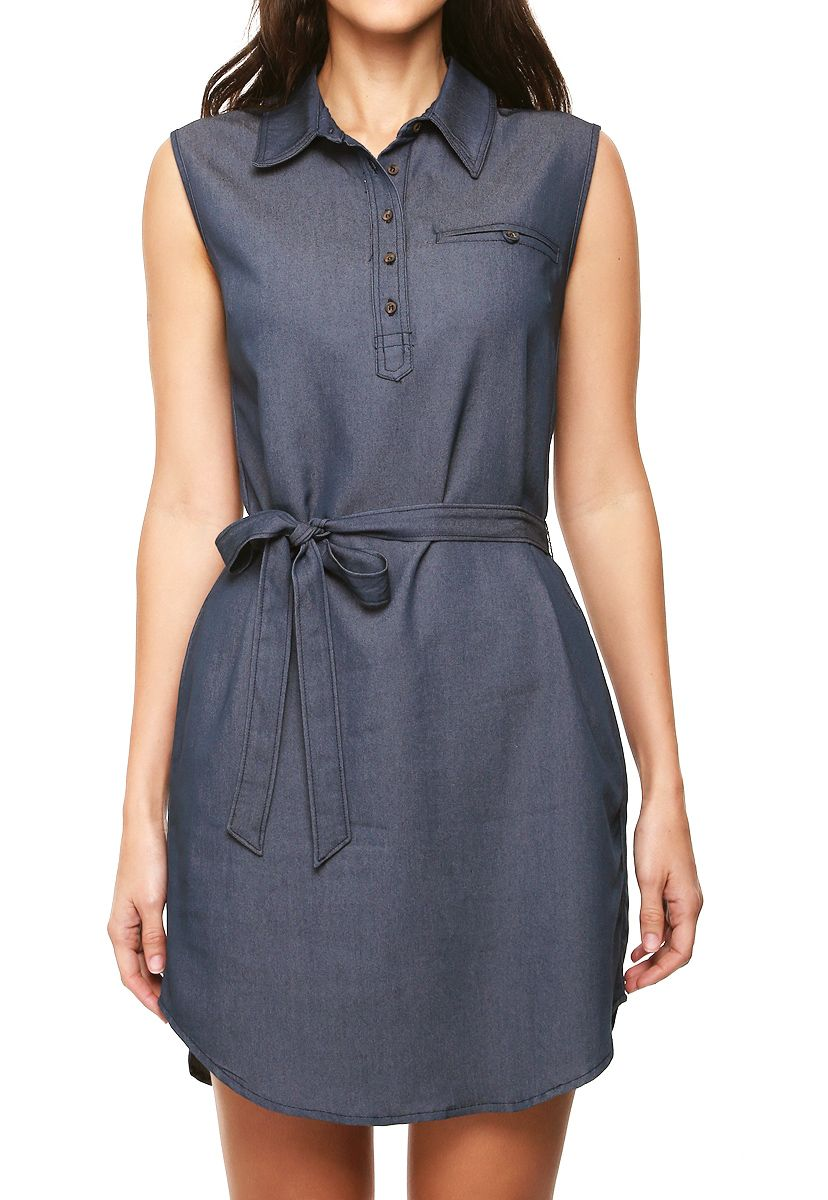 Pin de Zepporah en Denim Dresse | Pinterest | Vestidos camiseros ...