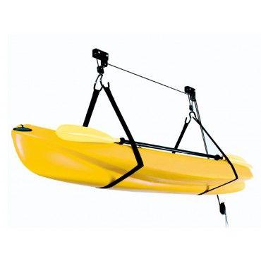 Kayak Storage Hoist Lift Pulley System Sports Kayak