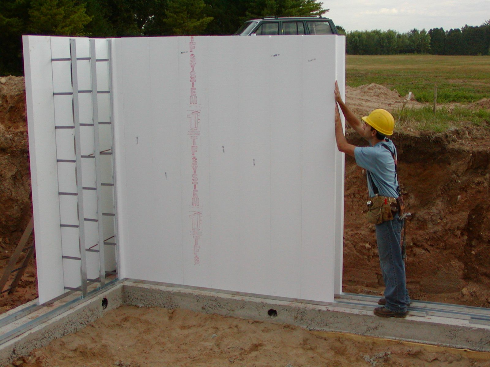 Thermoform icf building system dream home for Icf concrete