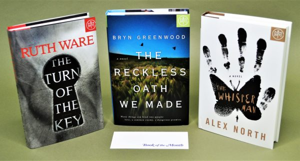 Book of the Month Reviews August, September & October 2019