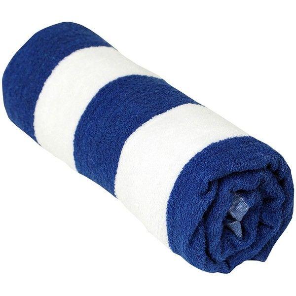 Cabana Stripe Ultra Beach Towel (215 SEK) ❤ liked on Polyvore featuring home, bed & bath, bath, beach towels and cabana stripe beach towel