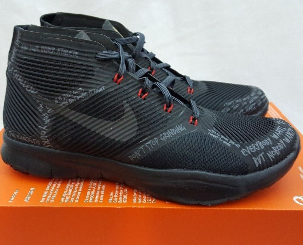 a6dc75835011e ... reduced nike free trainer instinct hustle kevin hart black red bred  848416 001 size 6.5 nike