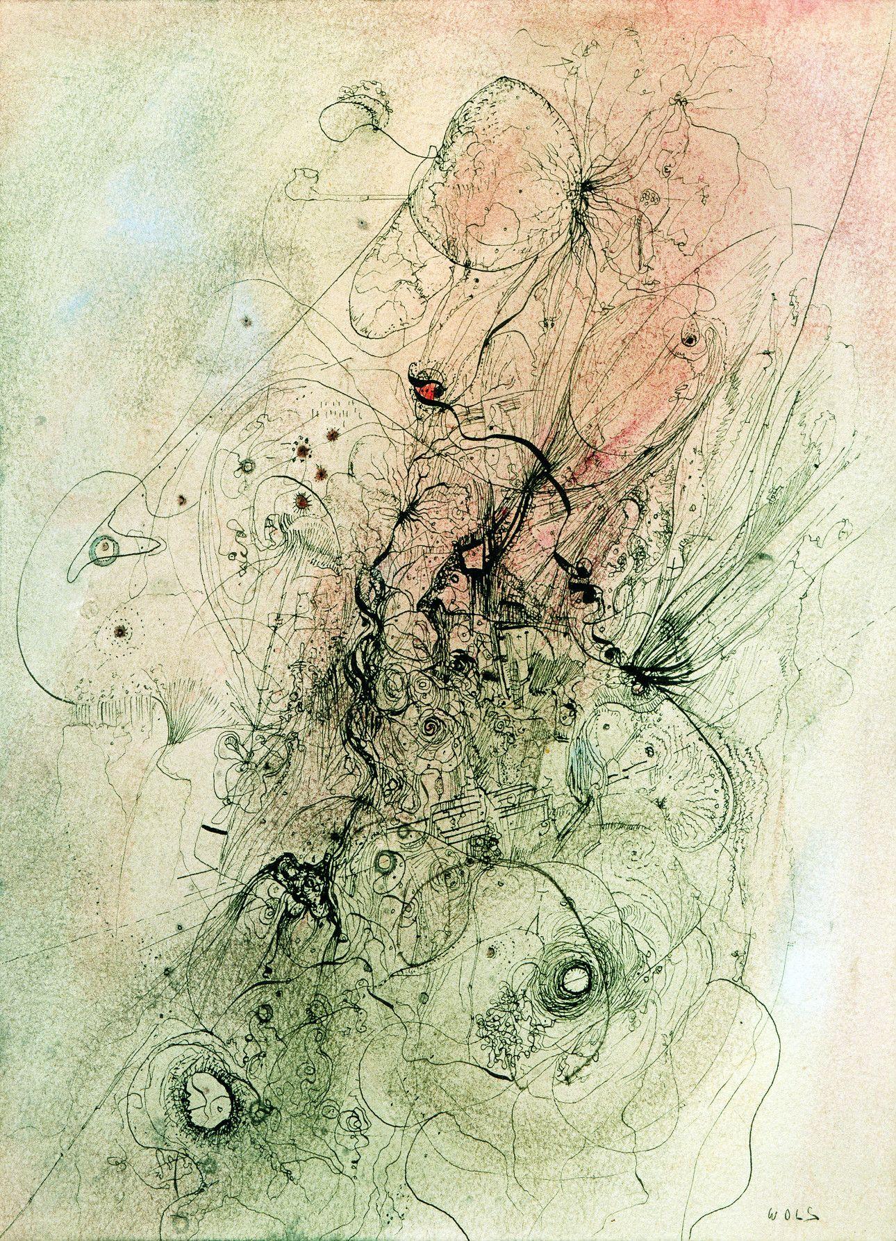 38歳で夭逝。20世紀を代表する画家ヴォルスが描く「感情のマグマ」 | 文春オンライン