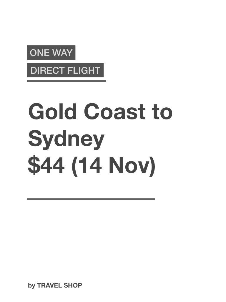 Gold Coast Sydney Flight Gold Coast Australia Flights Coast