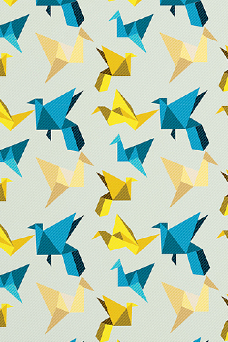Nicole martinez yellow paper crane framed wall art deny designs