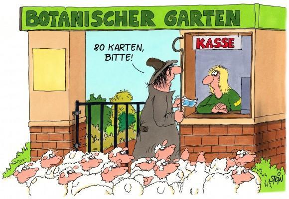 Uli Stein Cartoons Fotografie Cartoons Ulistein De Katzen Poster Botanischer Garten Comics Lustig