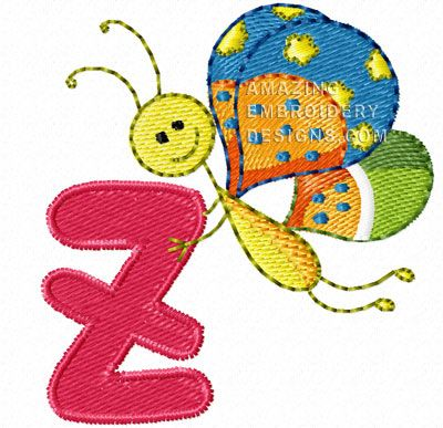This Free Embroidery Design Is From Amazing Embroidery Designs Bugs