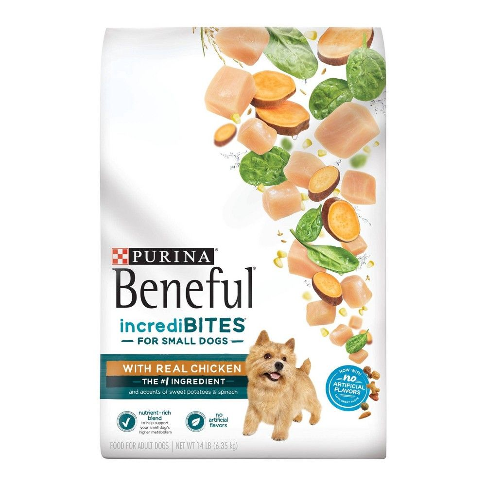 Purina Beneful Incredibites With Chicken Dry Dog Food 14lbs