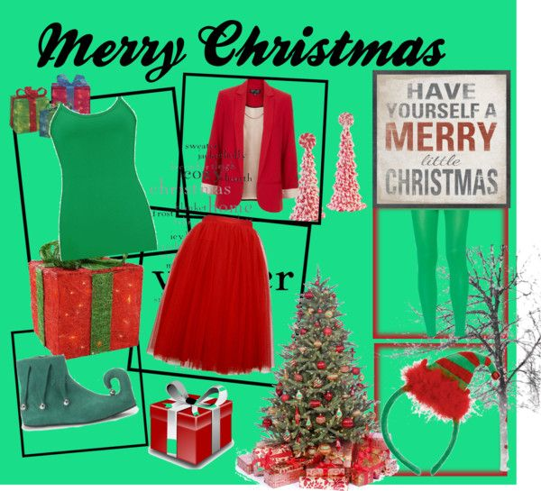 """""""Have yourself a Merry Little Christmas!"""" by always-living-it-freely ❤ liked on Polyvore"""