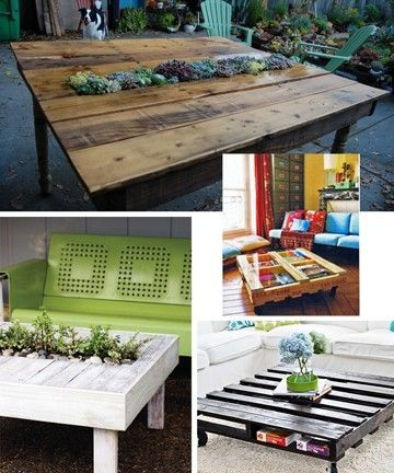 turning pallets into furniture. Turning Pallets Into Unique Pieces Of Furniture/conversation Pieces. Recycled Greatness. I Love Furniture