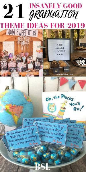 21 Best Graduation Party Themes To Use This Year #graduationparties