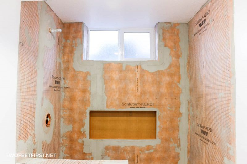 How to prep a shower for tile with Schluter Kerdi (With