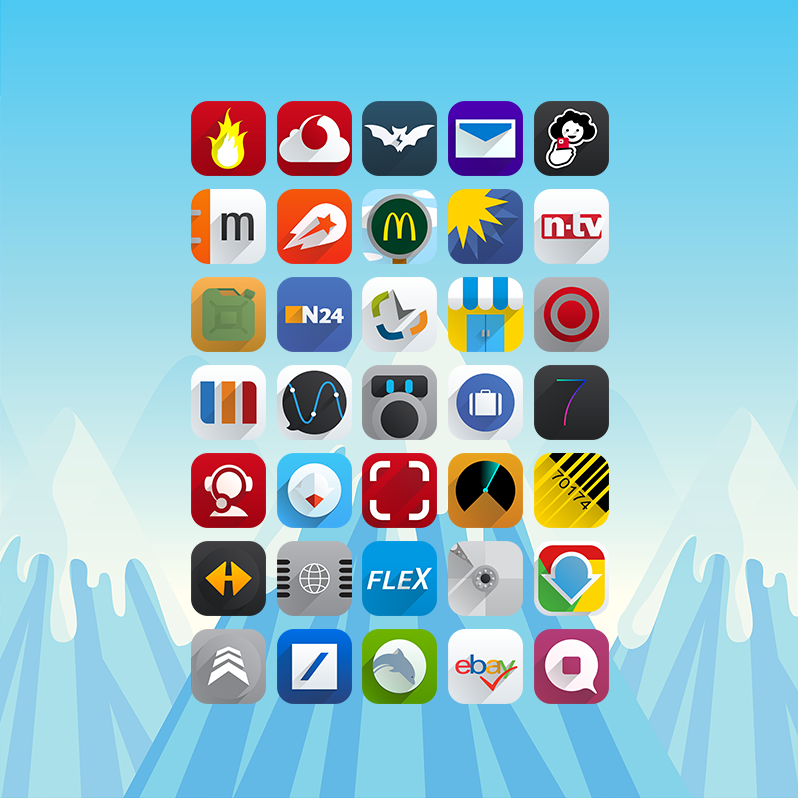 Icon packages cydia