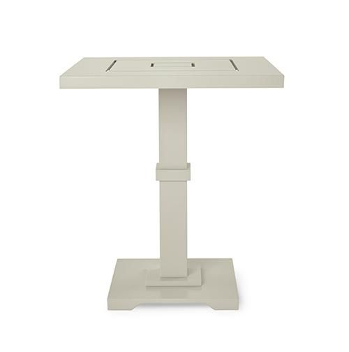 McKinnon And Harris | Carroll Side Table With Square Adams Big Top