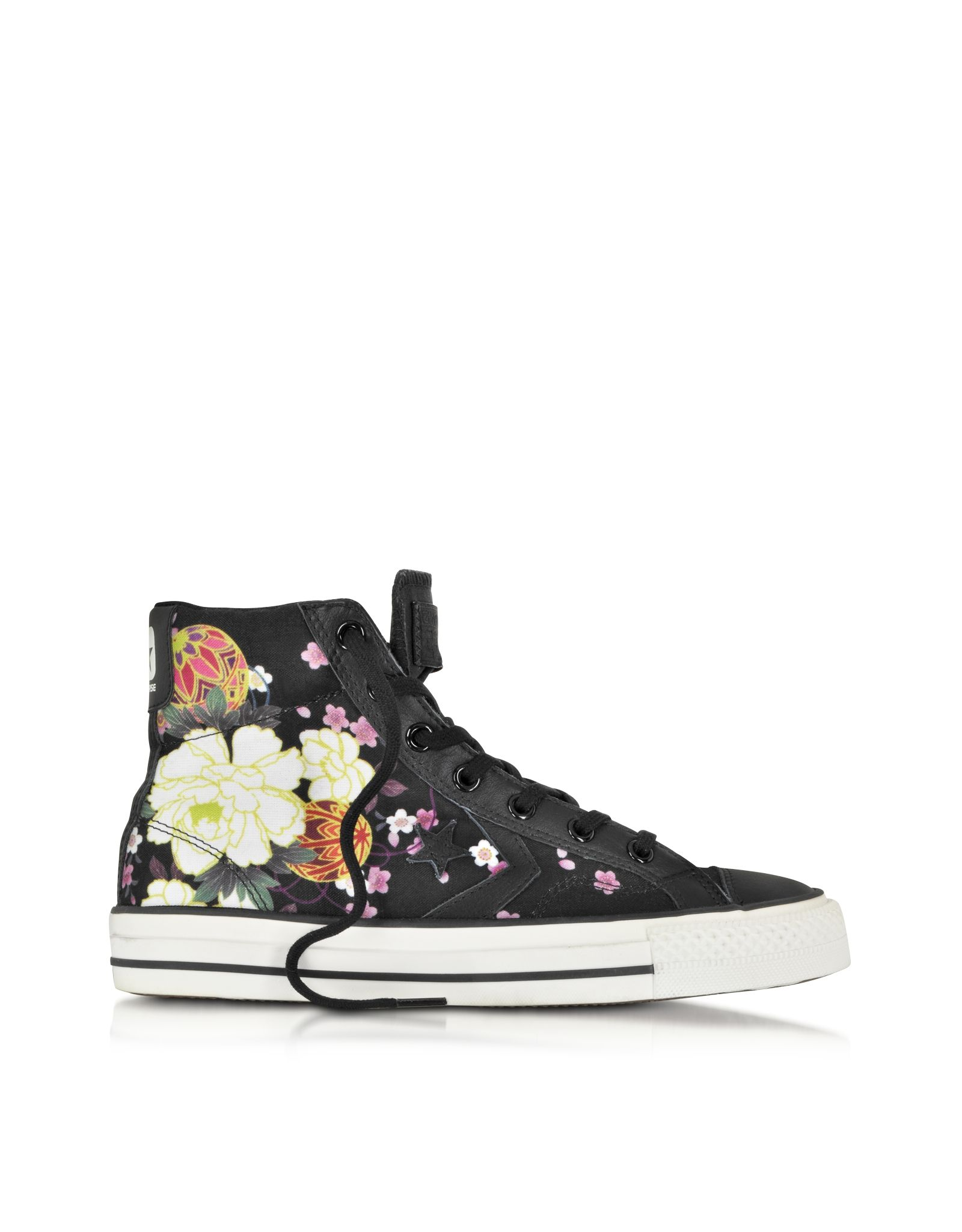 77aa9faea440 Converse Limited Edition Star Player Ev High Top Black Hanami Canvas ...