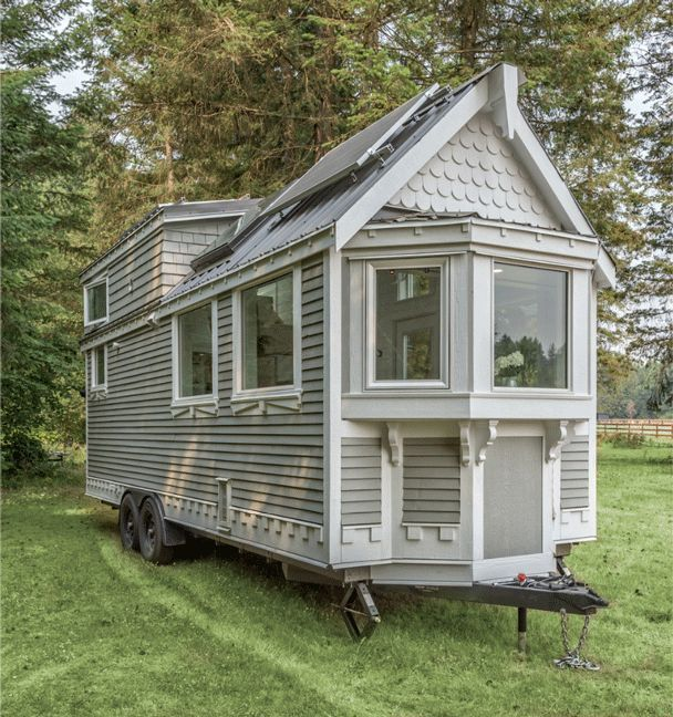 The Elegant Heritage by Summit Tiny Homes in British Columbia #tinyhomes
