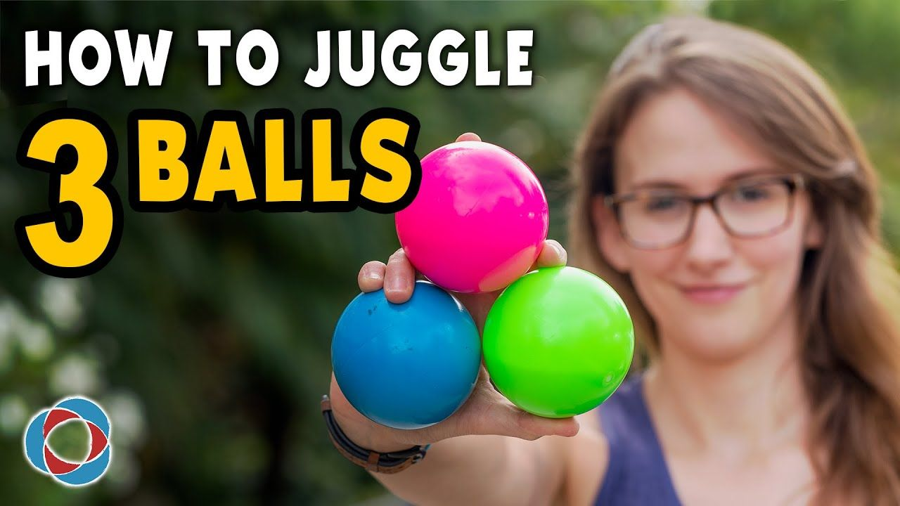 Learn To Juggle 3 Balls Beginner Tutorial How To Juggle Juggling Ball