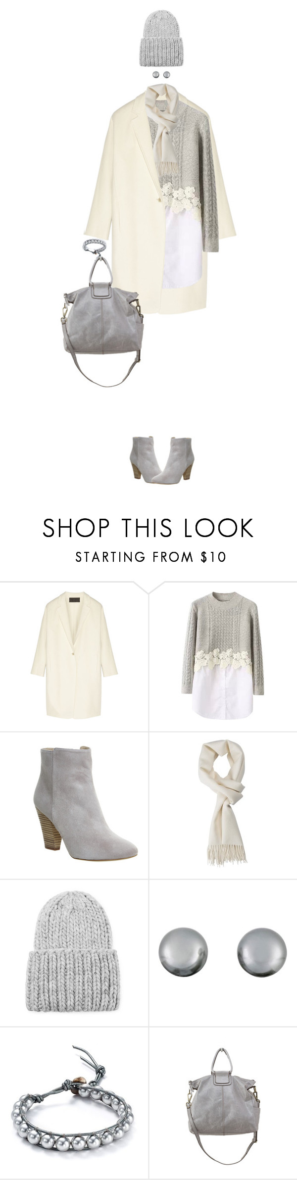 """""""Sweater Dress"""" by ittie-kittie ❤ liked on Polyvore featuring Donna Karan, Office, Forever 21, Kenneth Jay Lane, Chan Luu, HOBO, Fall, dress, sweaterdress and fallfashion"""