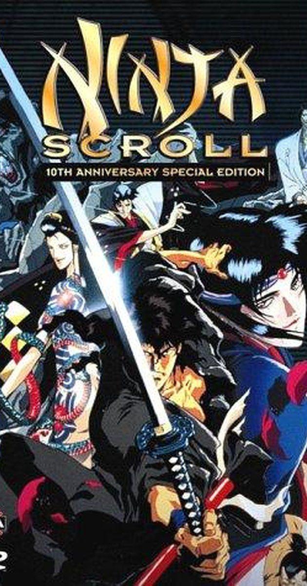 A LICENSED NEW Ninja Scroll Movie POSTER 27 x 40 Stephen Apostolina Dean Wein