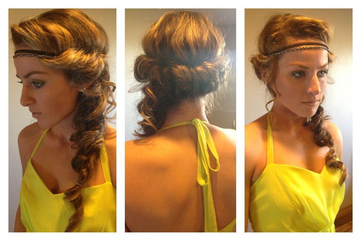 prom hair.. like a greek goddess! | all things beautiful