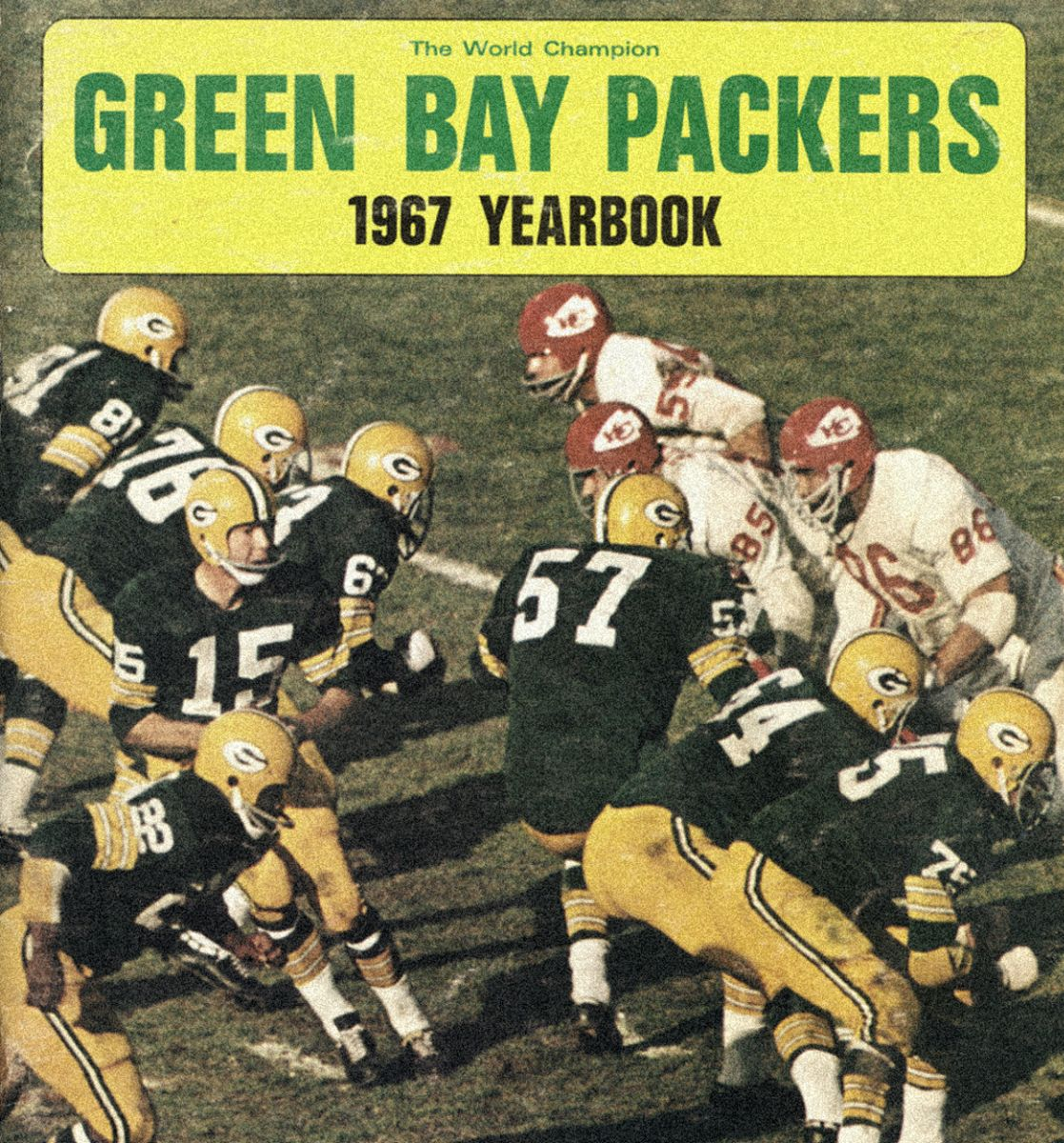 Green Bay Packers 1967 Yearbook Cover Green Bay Packers Green Bay Packers Fans Green Bay