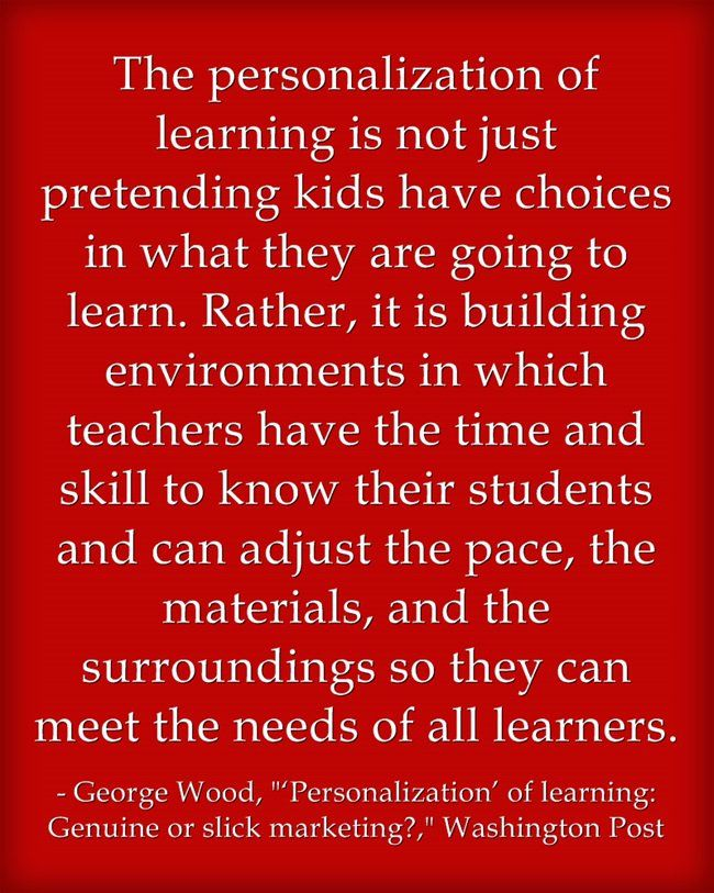 Quote Of The Day Personalized Learning Personalize Learning