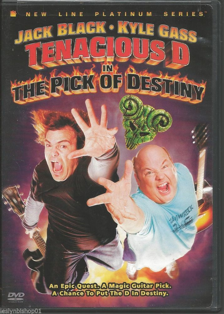 Tenacious D In The Pick Of Destiny Dvd 2007 Jack Black Kyle Gass Free Movies Online Full Movies Online Free Dvd