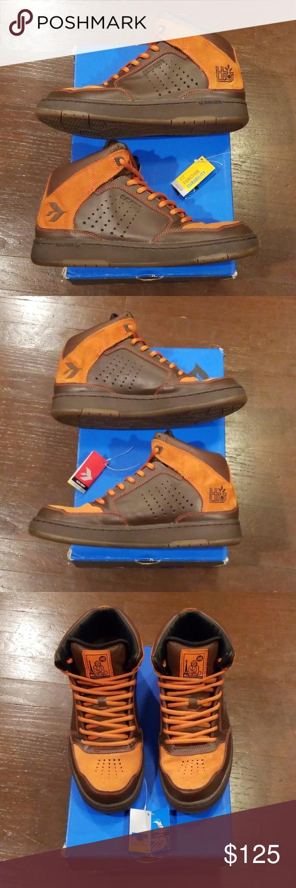 Savier Fulton X Habitat Series Orange Brown 9 In 2020 Fulton Slip On Sandal Leather