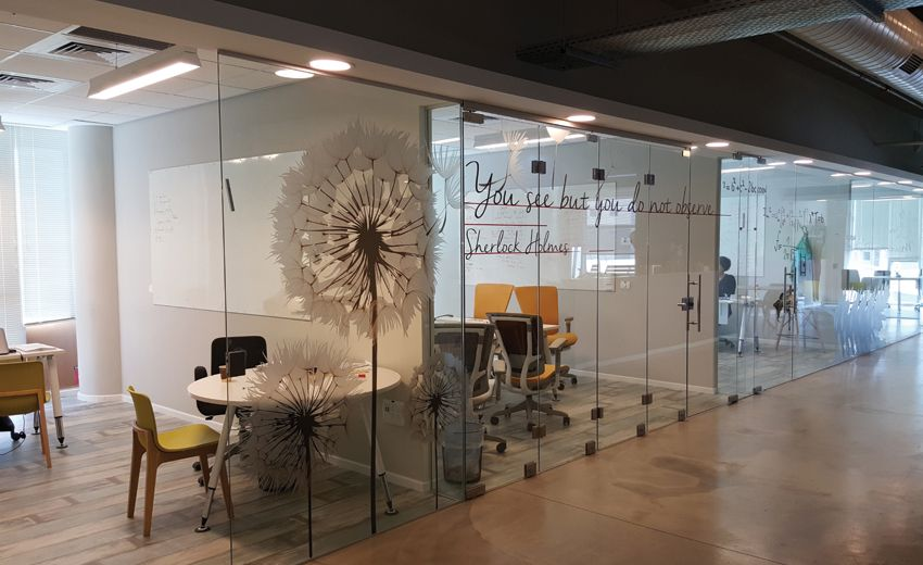 Studio luka glass decal design studioluka environmental