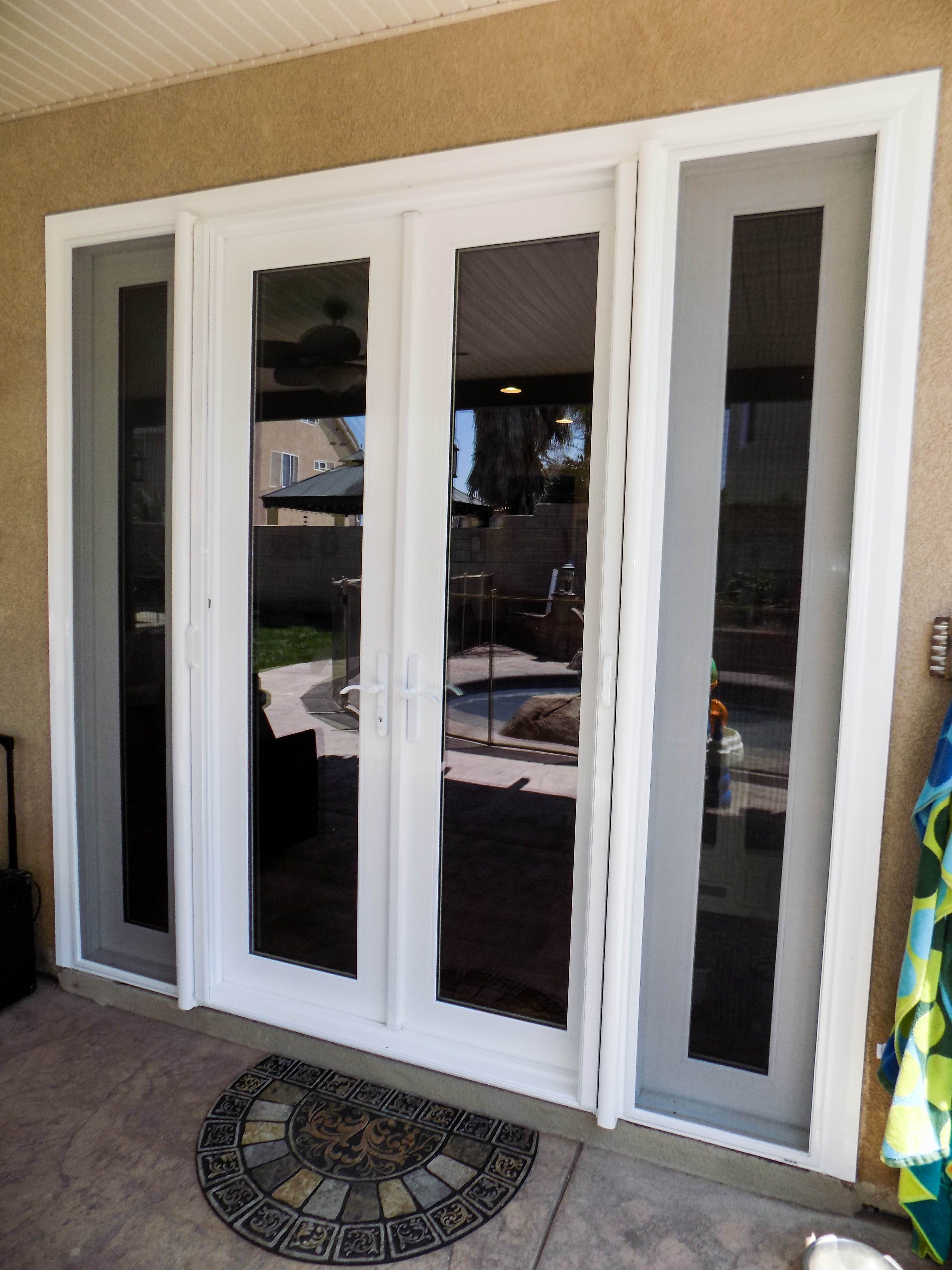 If You Have French Doors Don T Let Mosquitoes And Bugs Keep You From Leaving Them Open To Vent Instea Retractable Screen Door Retractable Screen French Doors