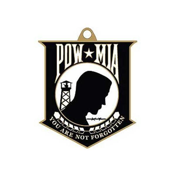 POW MIA Key Chain