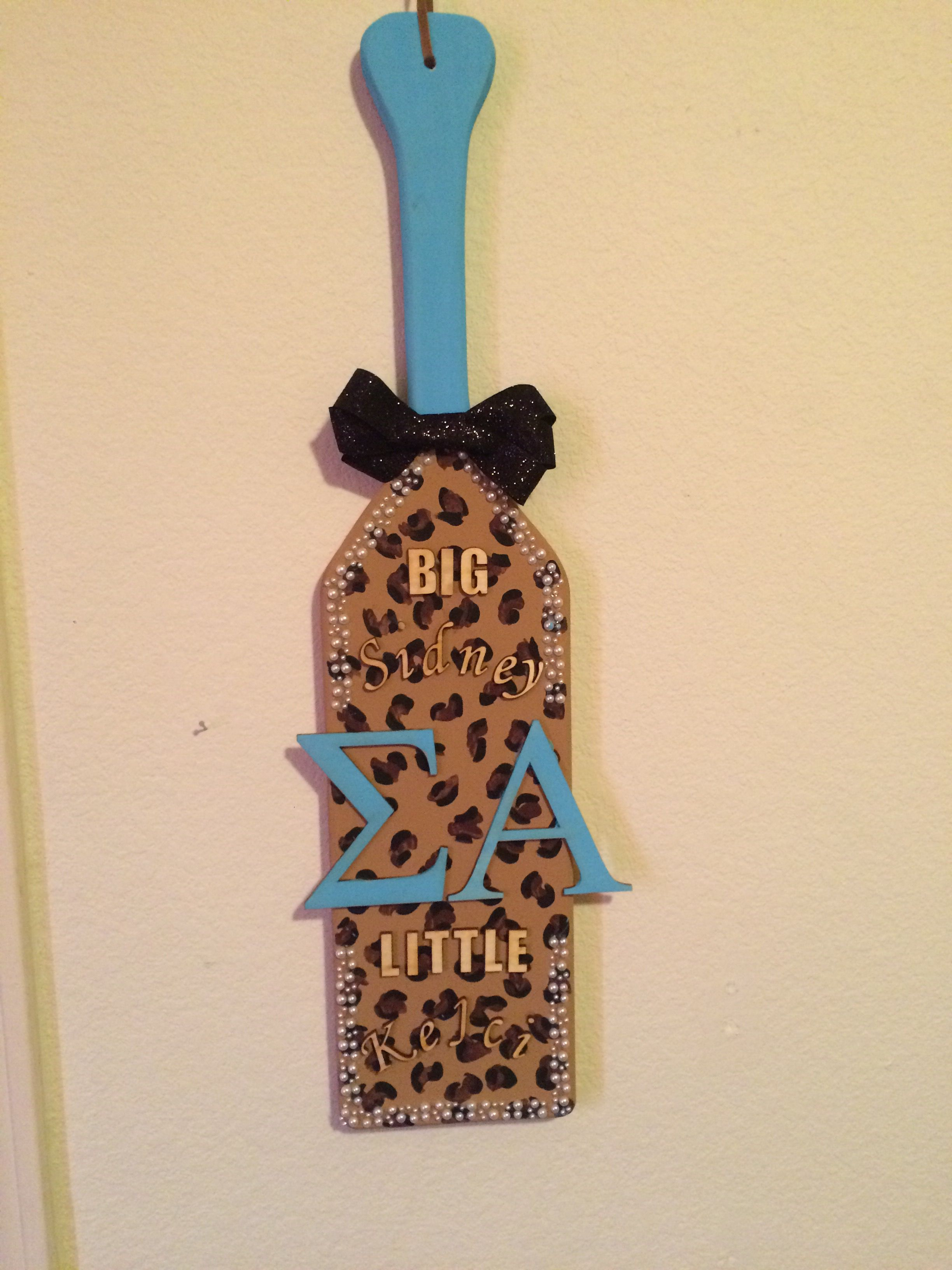 Perfect paddle that my little made me❤️