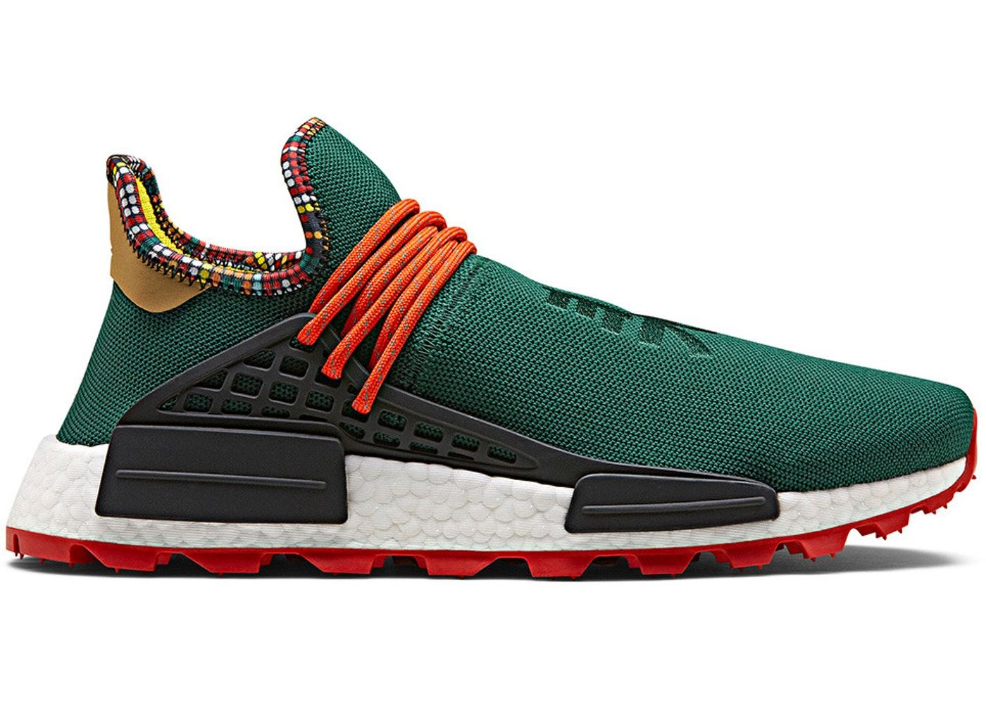 37f28c55 Check out the adidas NMD Hu Pharrell Inspiration Pack Green available on  StockX