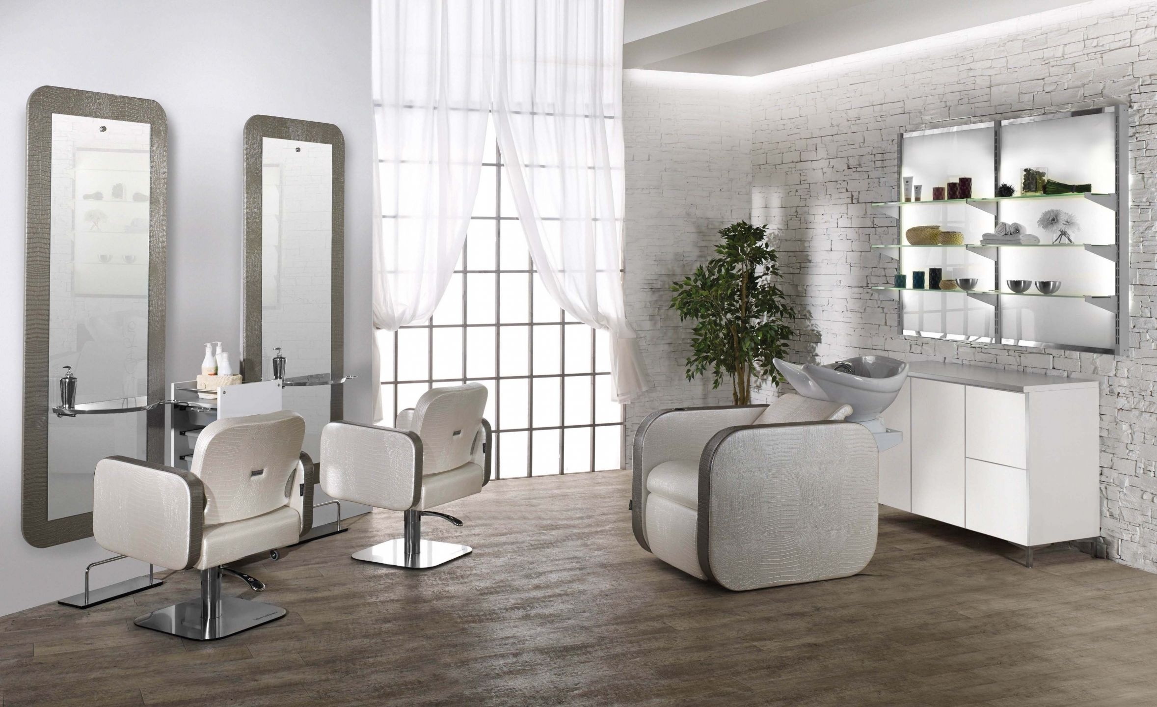 Tuoni Arredamento ~ Salon ambience hairdressing furniture made in italy