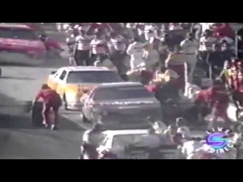 Tire changer Mike Rich's Fatal Accident    Atlanta 1990 (Top 10