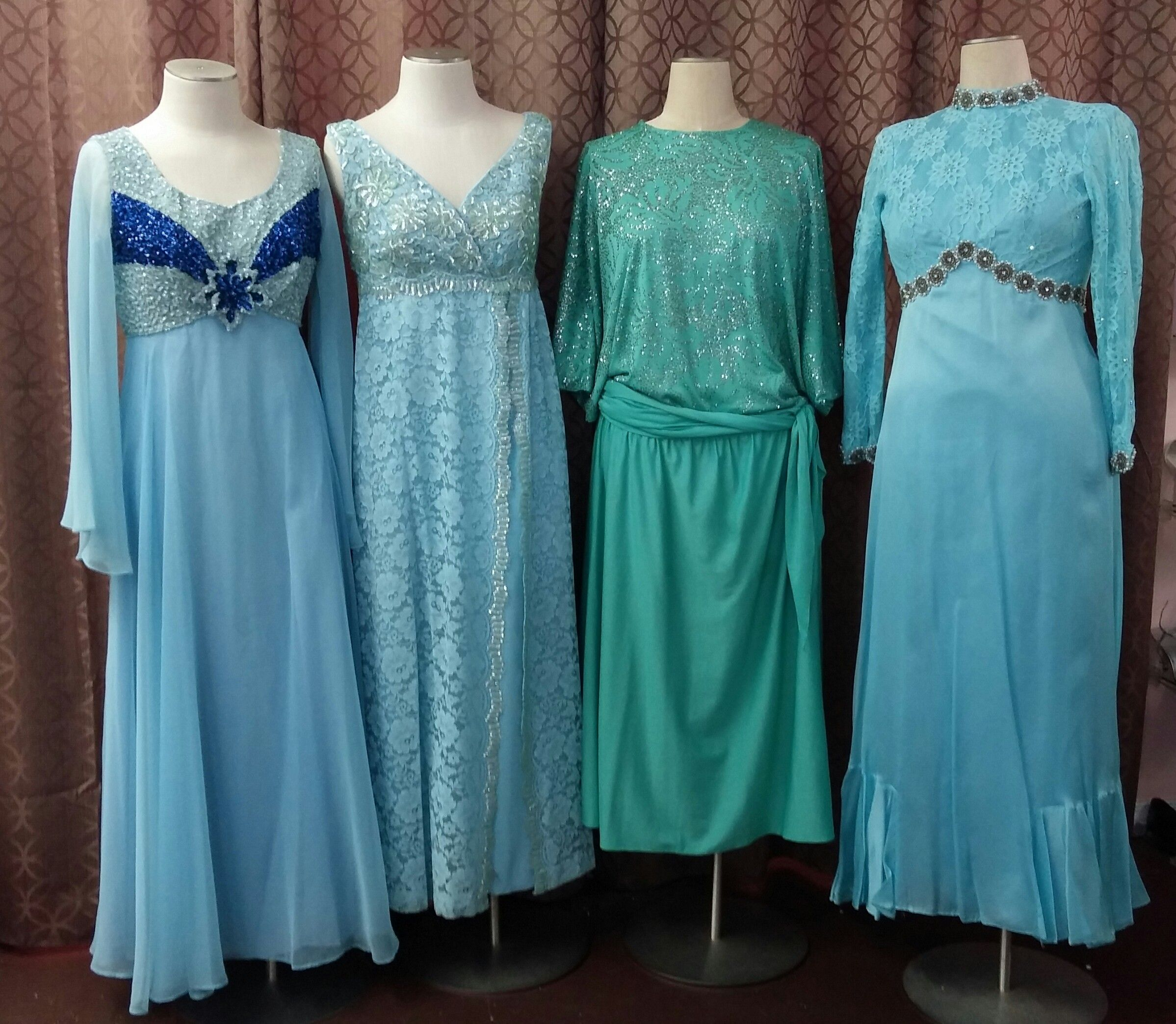 Vintage Formal Dresses 1960s & 1970s by Mike Benet and Emma Domb ...
