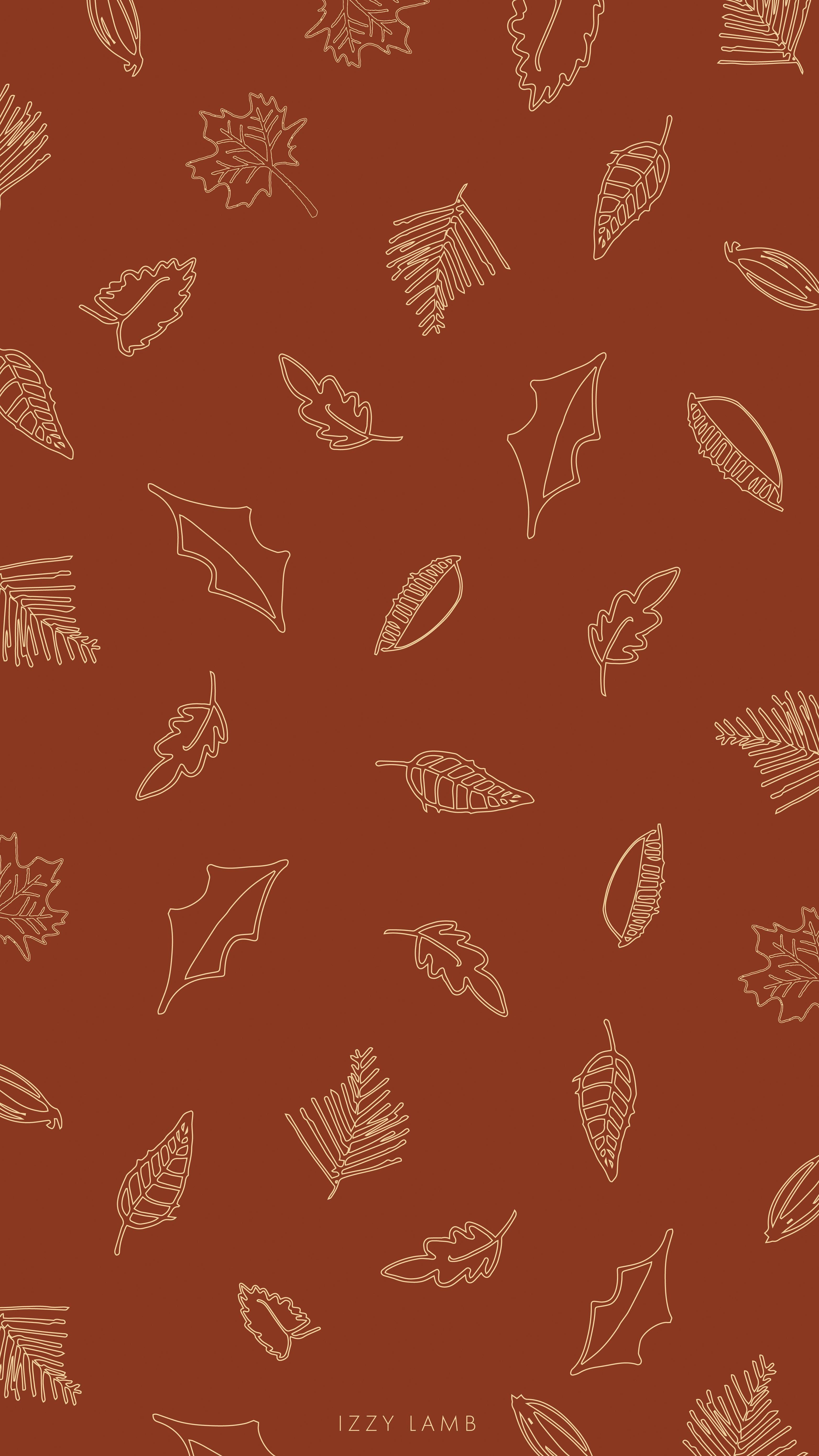 Leaves Wallpaper October Fall Autumn Iphone Wallpaper Phonewallpaper Izzylamb Iphonew Iphone Wallpaper Fall Autumn Leaves Wallpaper Cute Fall Wallpaper