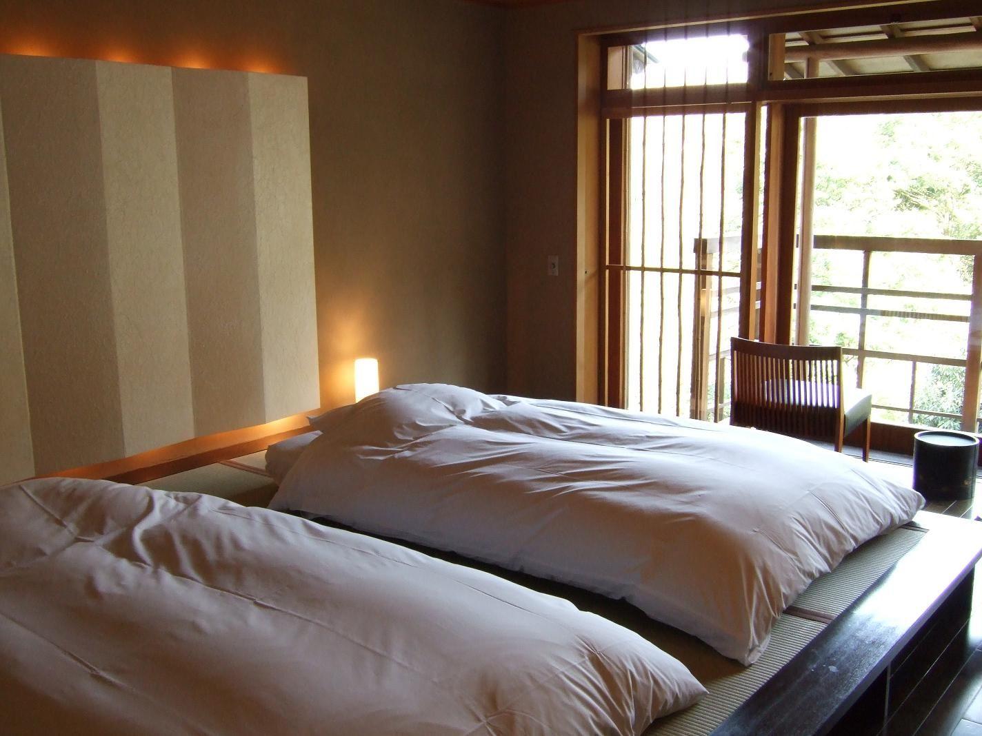 Ryokan Japanese Style Hotel Futon At Gorakadan In Hakone